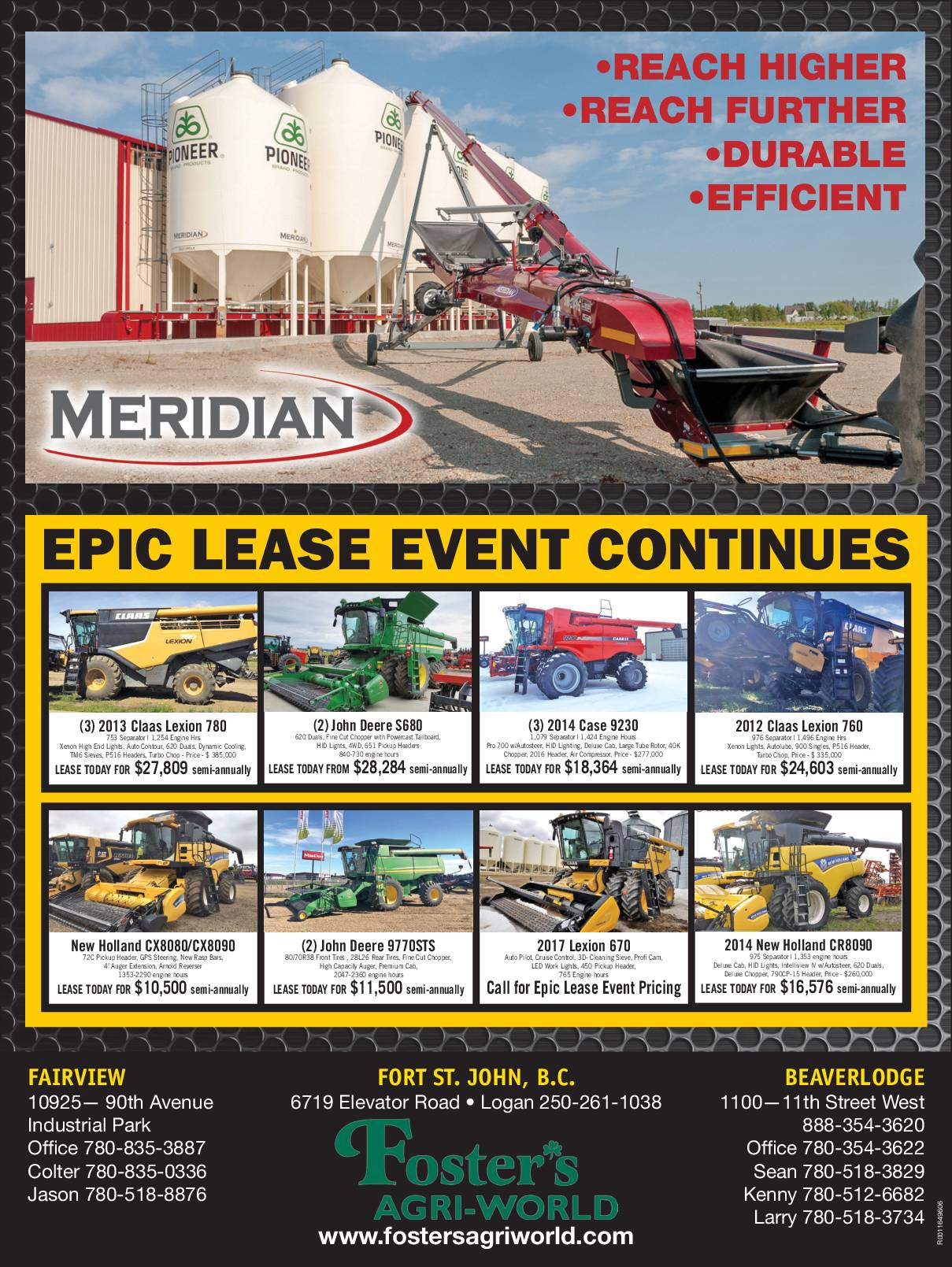 Epic Lease Event