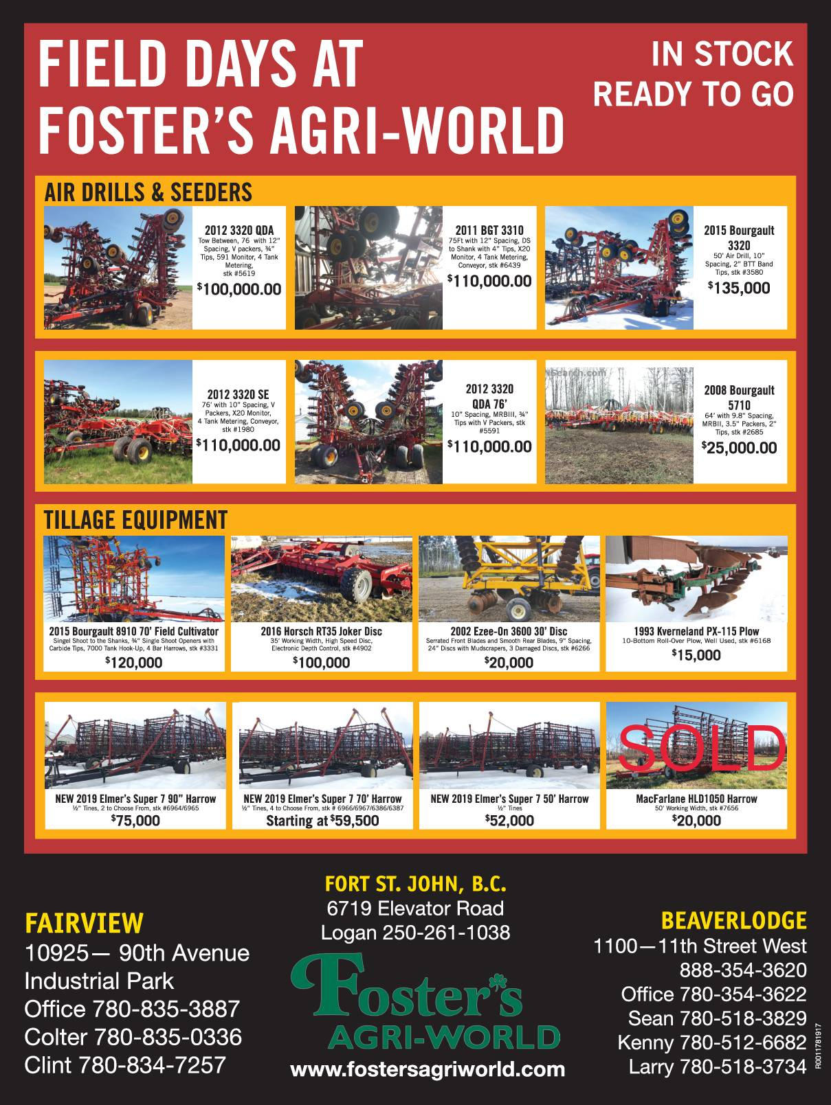 FIELD DAYS MAY 15