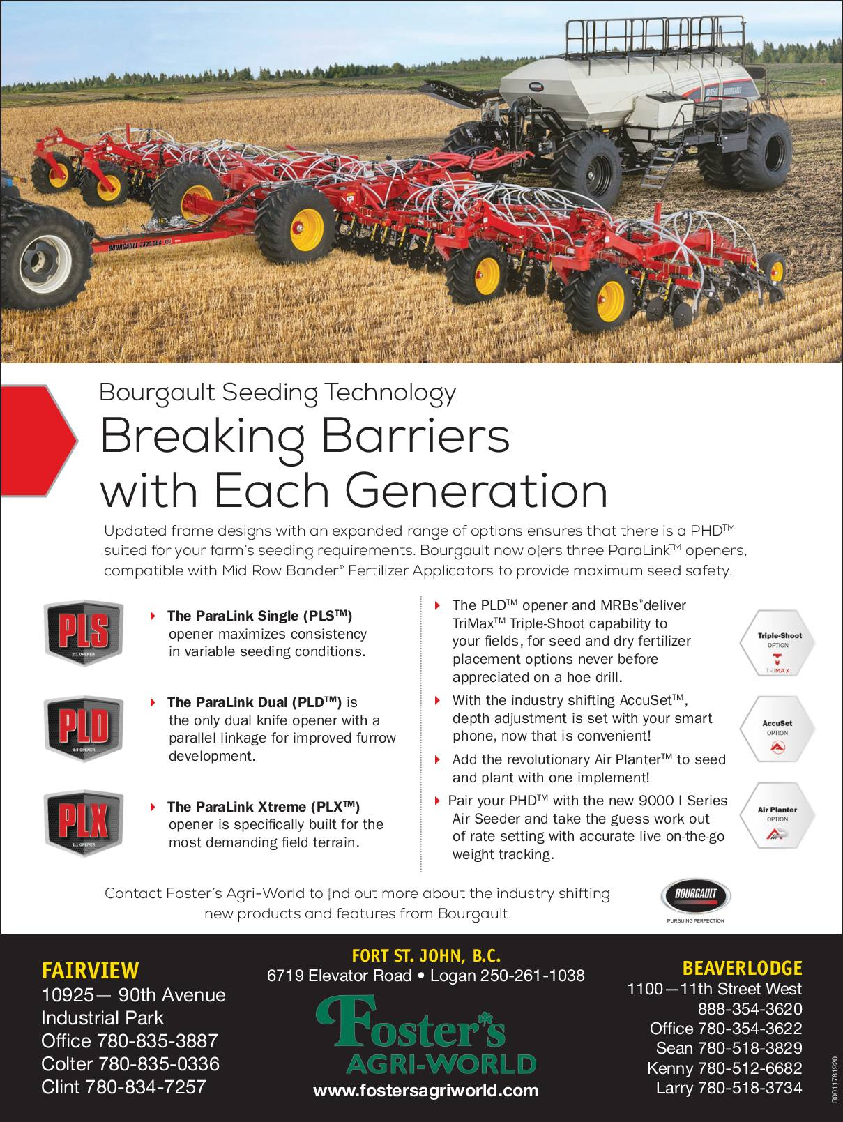 Bourgault- Breaking Barriers