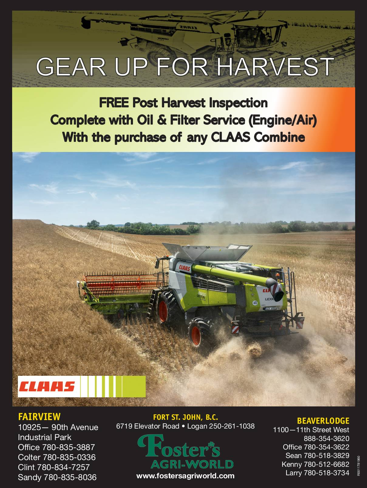 Gear up for Harvest!