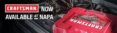 HOLD ONTO YOUR HATS! NAPA NOW OFFERS CRAFTSMAN TOOLS!