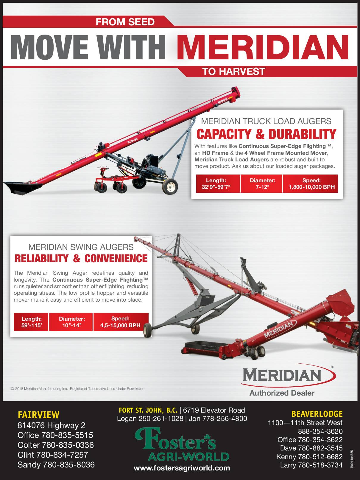 From Seed to Harvest. Move with Meridian